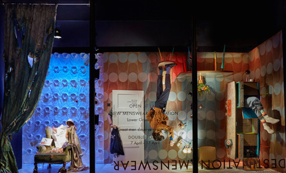 Harvey_Nichols_Menswear_Windows_-_Retro_Room