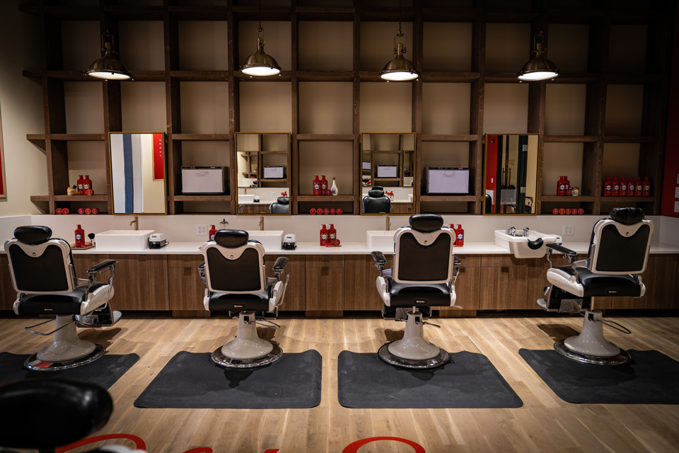 old spice cutting area